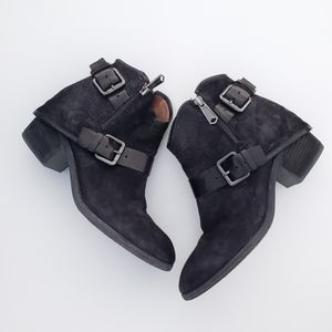 Donald J Pliner Dalis Western Ankle Booties Shoes